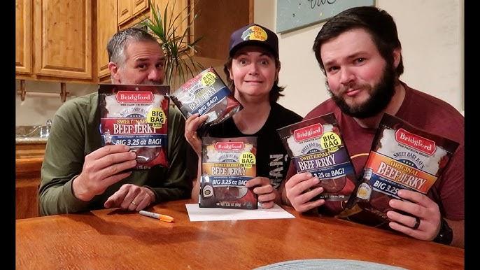 Best Beef Jerky Ever Lorissa S Kitchen Steak Strips Taste Test Review Youtube