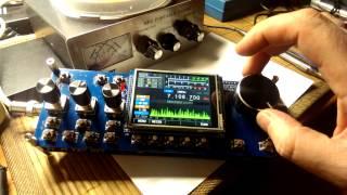 Homebrew SDR mcHF transceiver