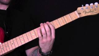 On A Plain Guitar Tutorial by Nirvana