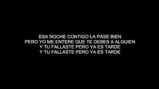 Daddy Yankee - Lo Que Paso, Paso (Letra/Lyrics) HD
