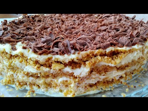 Торт Без Духовки