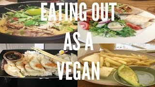 Eating Out As A Vegan - Nando's , Wagamama's + More!