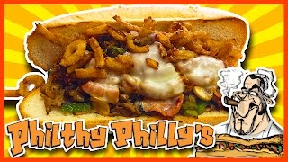The Big Texan at Philthy Philly's - Newmarket