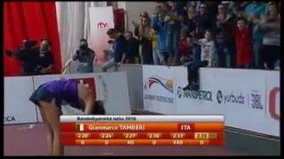 2.35m high jump - Gianmarco Tamberi & Marco Fassinotti - indoor italian national record