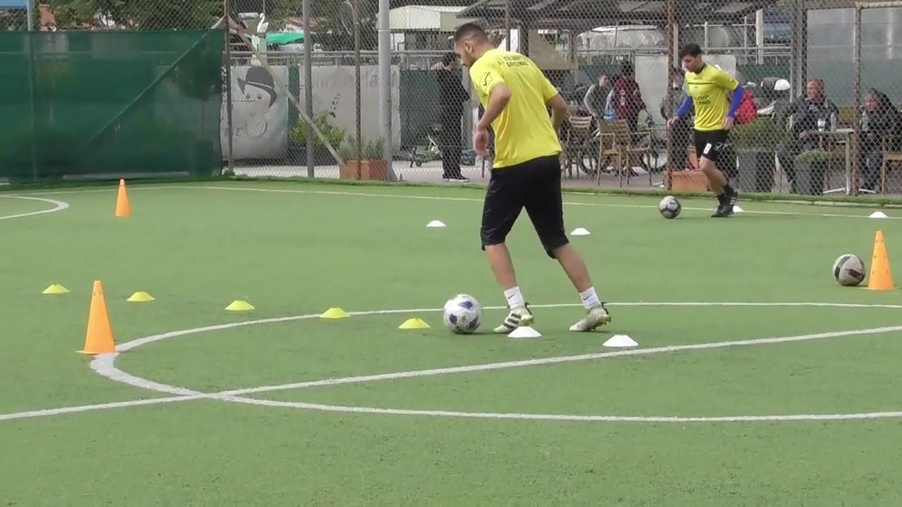 Soccer training ideas 8 (ΤΑΒΑΤΑ- technical training on stations)