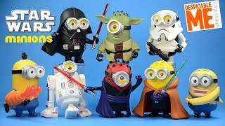 If Minions were Star Wars! This is how they look like! Despicable Me Collectible Figures