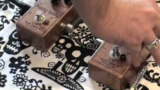 Plum Crazy FX Fuzzy Lady comparison guitar effects pedal demo