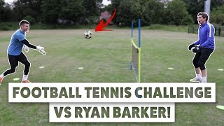 Goalkeeper Football Tennis Challenge vs Hashtag Utd Sunday keeper!