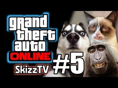 (Skz) GTA V online #5 - คู่หูซ่า บ้าสะท้านเมือง!!