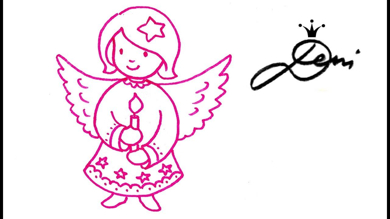 Asas De Anjo Doodles Set Engel Zeichnen Gekritzel 12