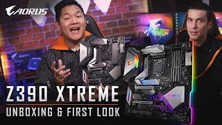 Z390 AORUS XTREME | Unboxing & First Look!