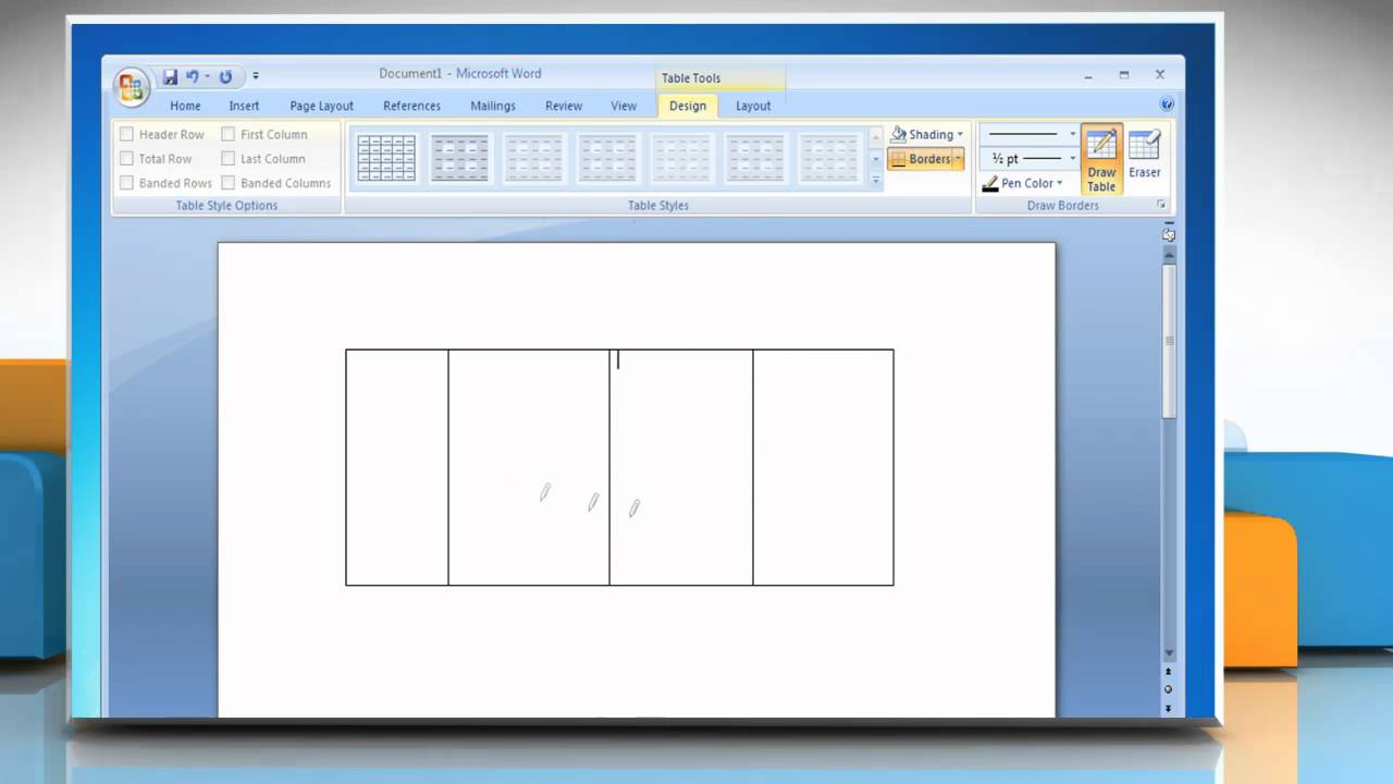 Microsoft word 2007 how to draw a table on windows 7 youtube microsoft word 2007 how to draw a table on windows 7 urtaz Image collections