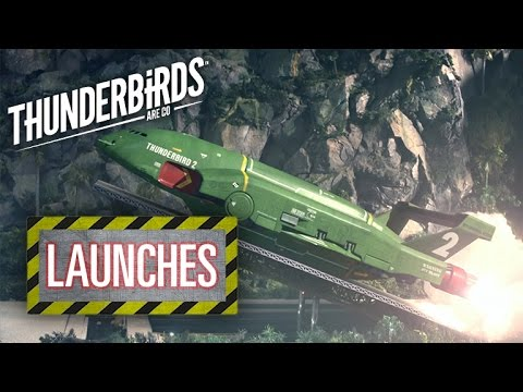 Thunderbird 2 Launch Sequence | Thunderbirds Are Go Clip
