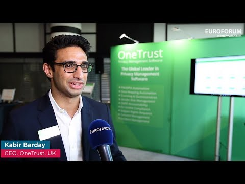 European Data Protection Days 2017 - Interview with Kabir Barday (OneTrust)