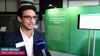 European Data Protection Days 2017 - Interview with Kabir Barday (OneTrust) thumbnail