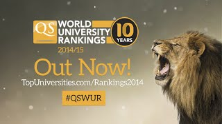 QS World University Rankings 2014/2015 - The Top 10 Overall!