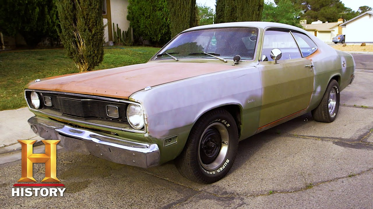 Download Counting Cars: SOUPED-UP '71 Plymouth Duster is a SPEED MACHINE (Season 4) | History