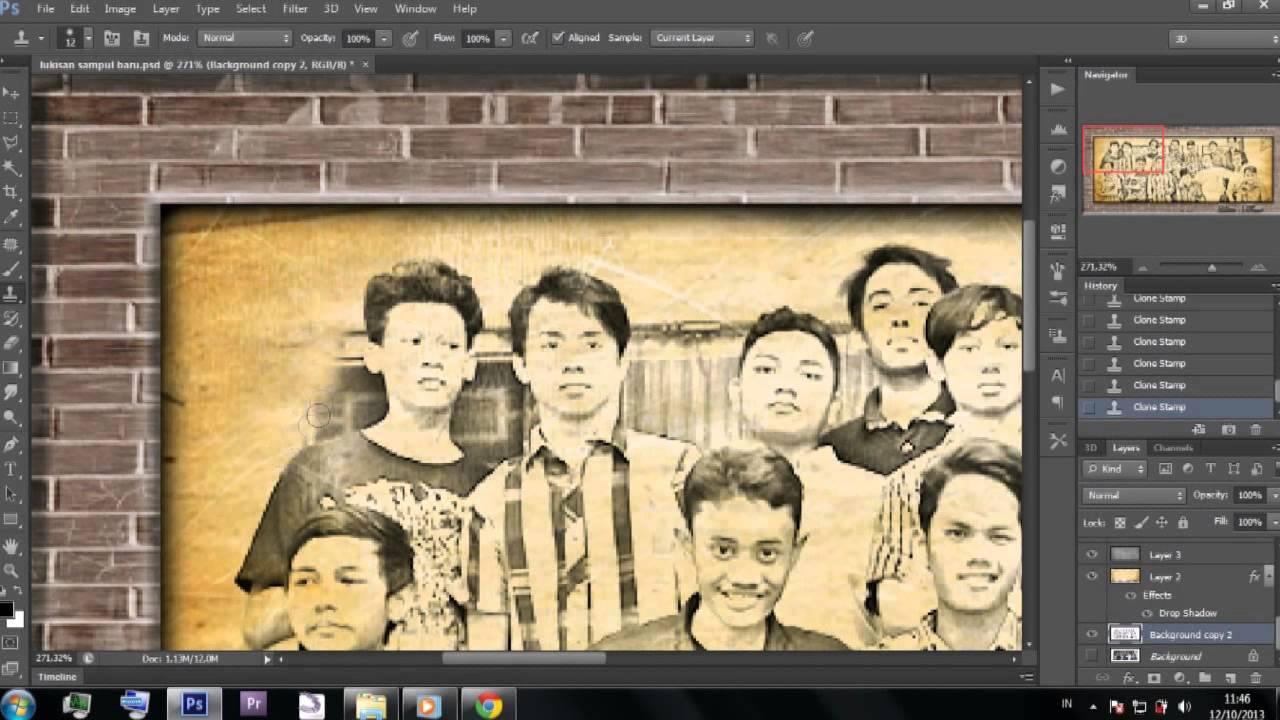 Part 2 Tutorial Photoshop Cs6 Membuat Foto Menjadi Seperti Di