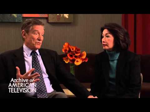 Maury Povich & Connie Chung discuss Maury's favorite Connie story - EMMYTVLEGENDS.ORG
