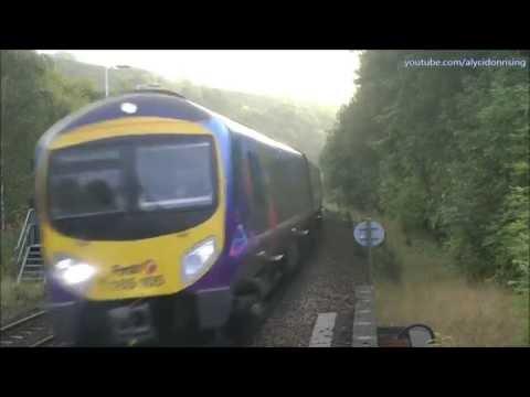 All Action Trans Pennine Trains 2016 - Slaithwaite