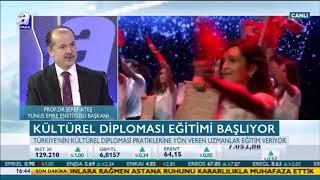 Gambar cover Yunus Emre Enstitüsü Başkanı Prof. Dr. Şeref Ateş A Para TV'de