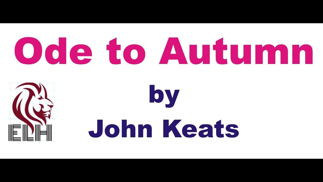 to autumn william blake analysis