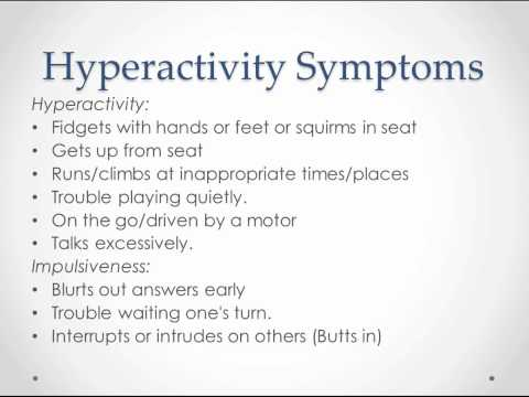 Attention Deficit Hyperactivity Disorder  - USMLE Step 2 Review