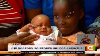 Baby born at 24 weeks discharged by KNH