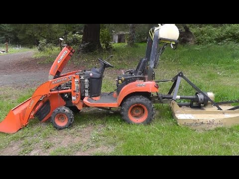 Kuboat tractor fuel pump problem and fix - YouTube on