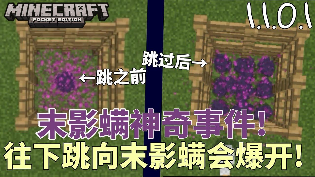 我的世界末影螨_末影螨神奇事件!往下跳向末影螨会爆开!【我的世界Minecraft ...