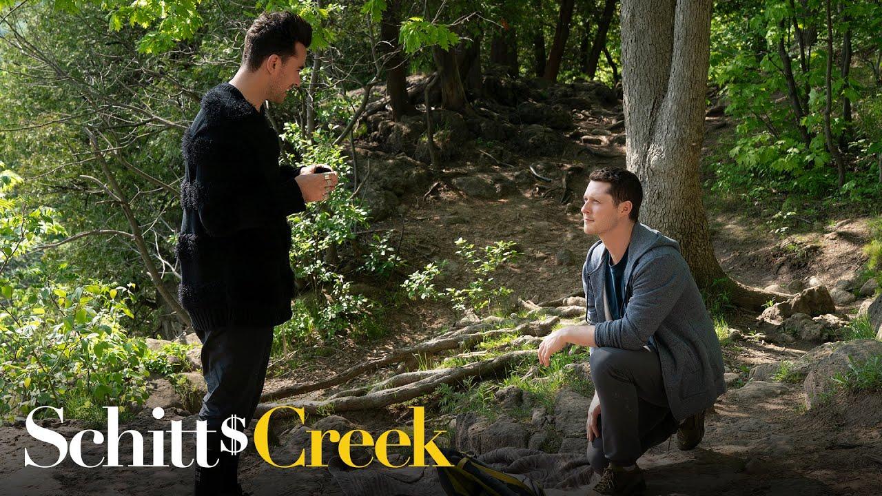 Patrick Proposes to David - Schitt's Creek