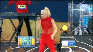 No Doubt - Spiderwebs Live @ Good Morning America July 27 2012
