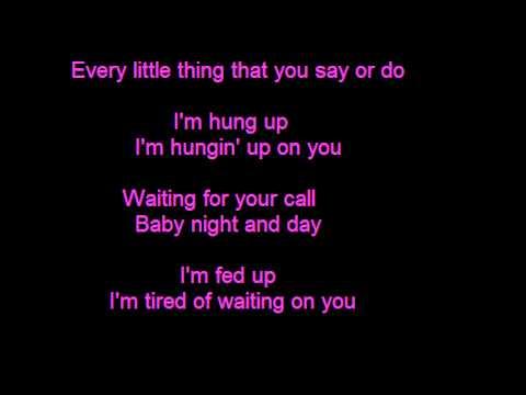 Madonna - Hung Up - Lyrics