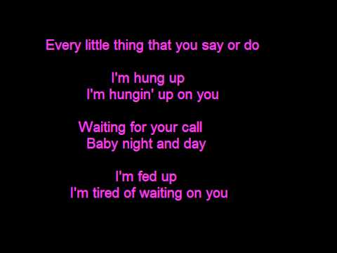 Madonna - Hung Up - Lyrics