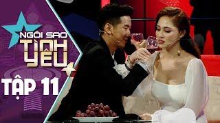 """NGÔI SAO TÌNH YÊU TẬP 11 - Hoa hậu Việt Nam Châu Á bỏ trai tốt chọn """"trai diễn sâu"""" và cái kết"""