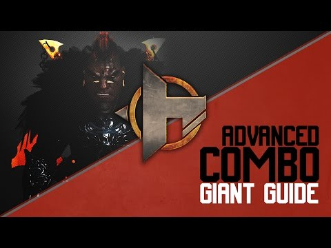 [Black Desert] Advanced Giant Combos [Non-Awakening]