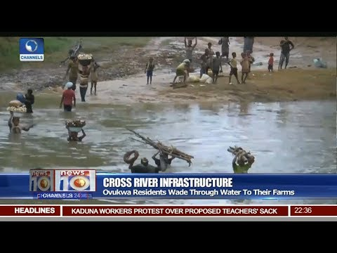 Ovukwa Residents Wade Through Water To Their Farms Pt.3 |News@10| 08/11/17