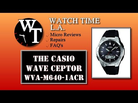 Casio Wave Ceptor Review - The Perfect watch? You Decide. (WVA-M640-1ACR)
