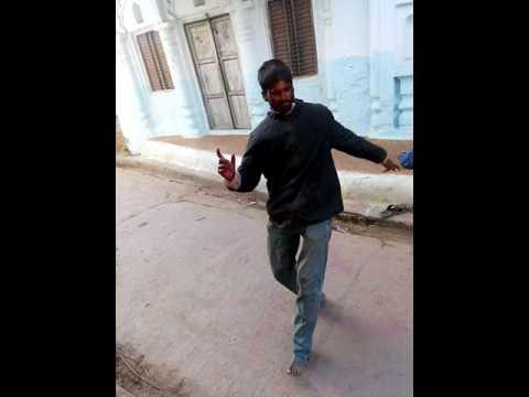 heart beat dance of crazy man