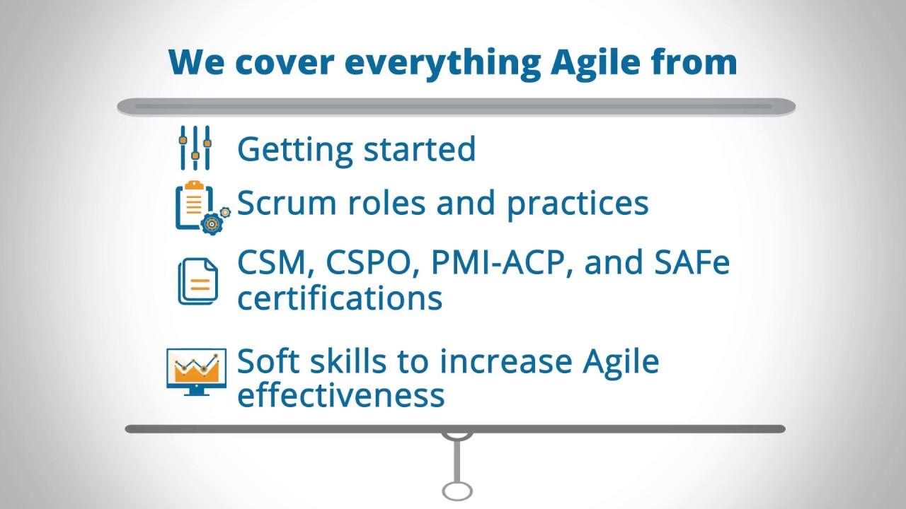 Agile Scrum Project Management Certification agile training - scrum project management training
