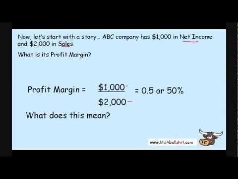 Profit Margin Ratio in 9 minutes - How to Calculate Financial Ratio Analysis Tutorial