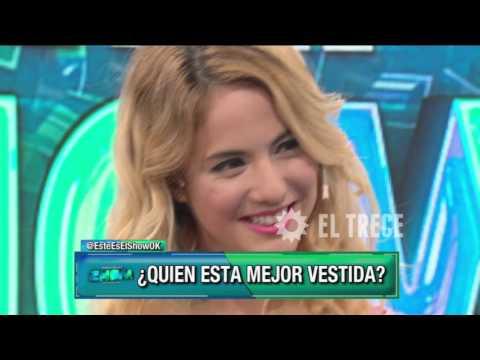 Matilda Blanco analizó el look de Flor y Mica