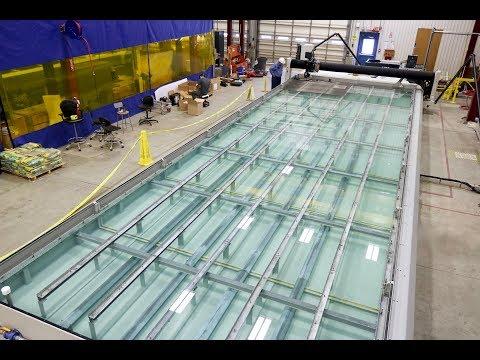 Water Jet Machining Center