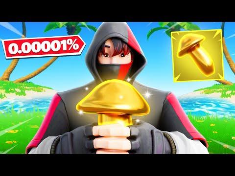 The *NEW* MYTHIC Mushroom Challenge (0.00001% Chance)
