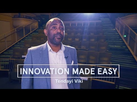 Tendayi Viki - Innovation Made Easy