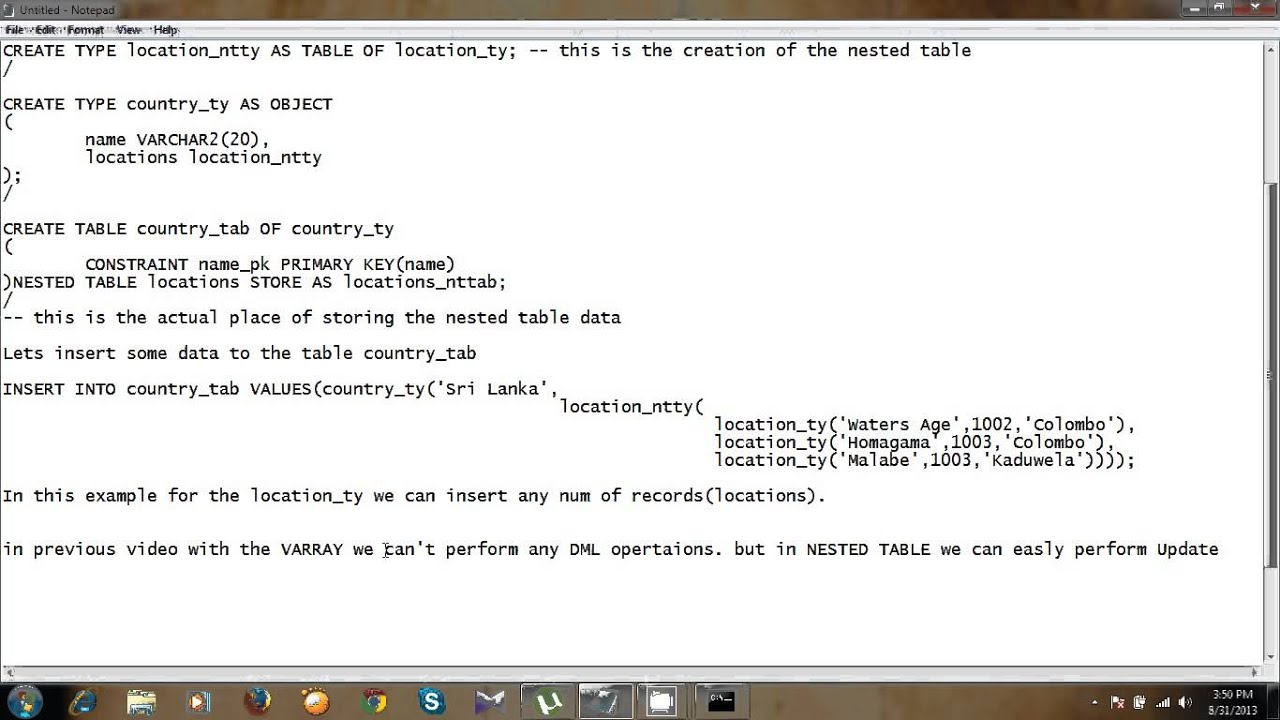 Nested tables youtube nested tables watchthetrailerfo