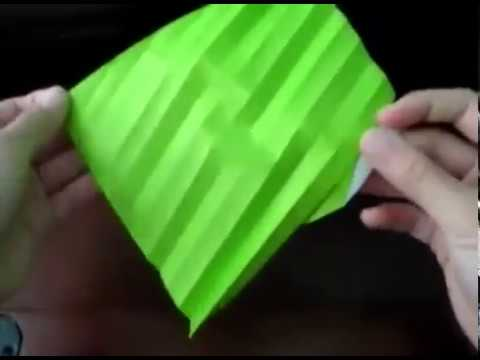 Origami New Kawasaki Rose Tutorial (Part 1)