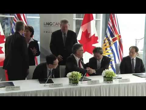 Companies behind LNG Canada formalize joint venture