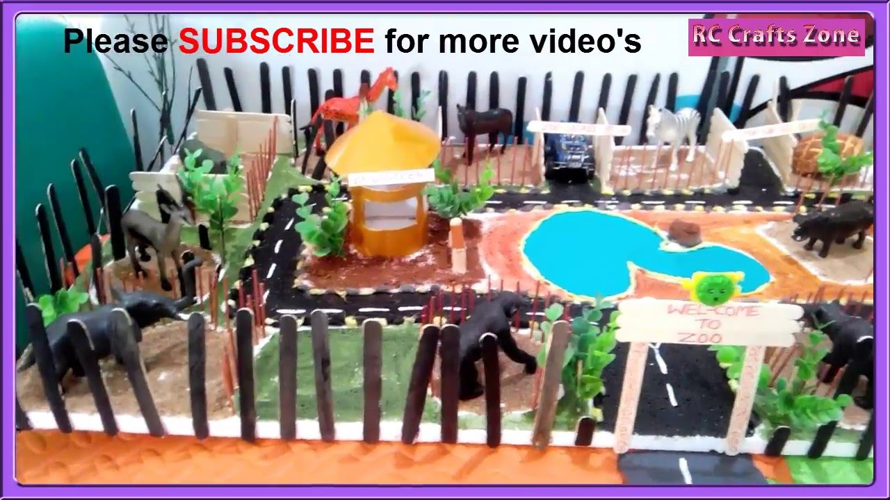 A Mini Zoo Project For Children Youtube