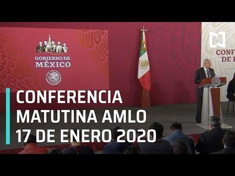 Conferencia matutina AMLO - Viernes 17 de enero 2020